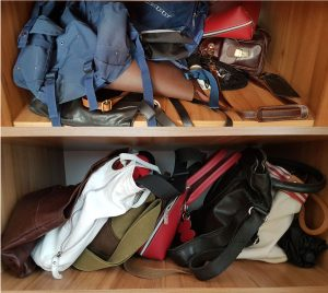 Съхранение на чанти – Стъпка 2