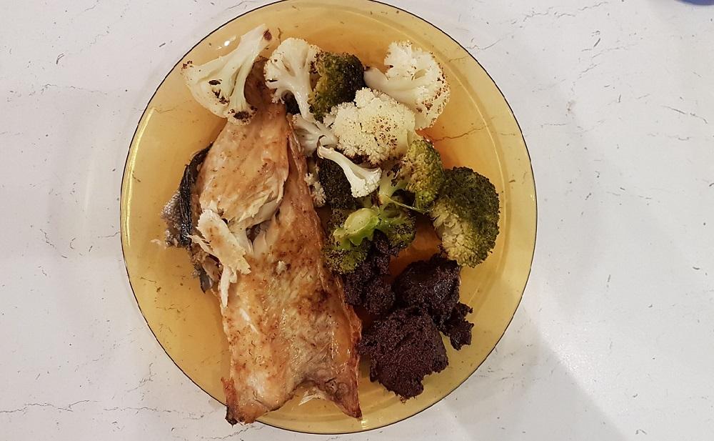 пъстърва зеленчуци