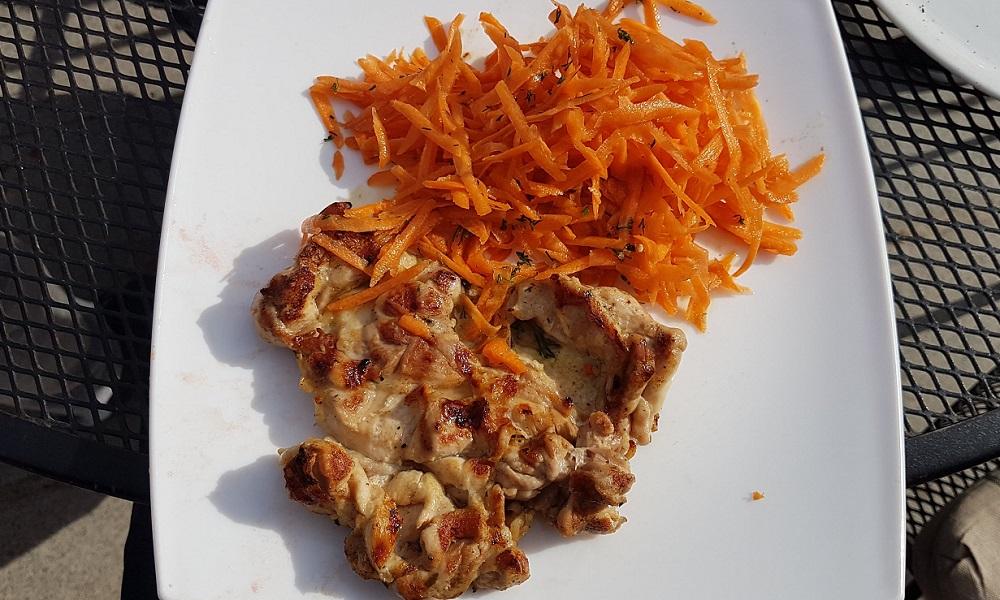 пилешка пържола