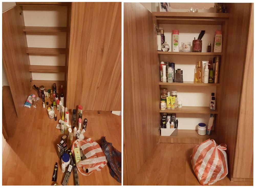 шкаф козметика