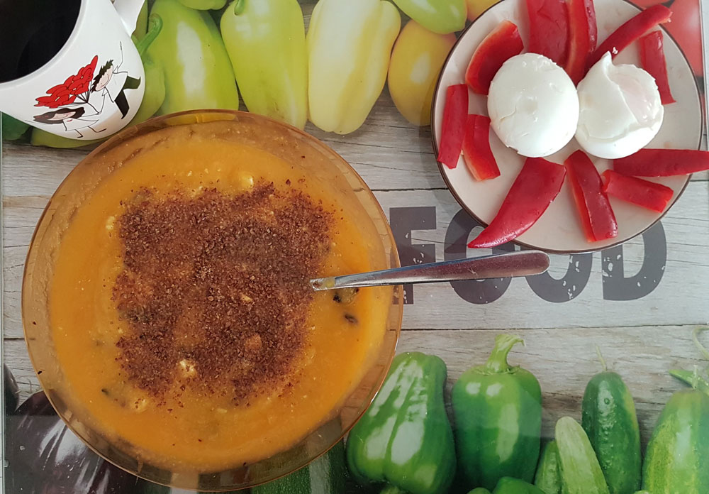 супа карфиол и тиква