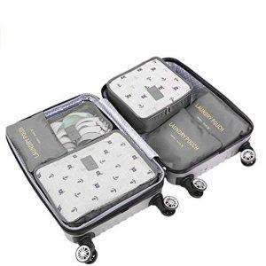 Органайзер за багаж, който смалява размера на куфара