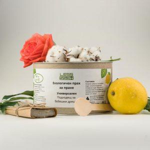 Натурален прах за бяло и цветно пране
