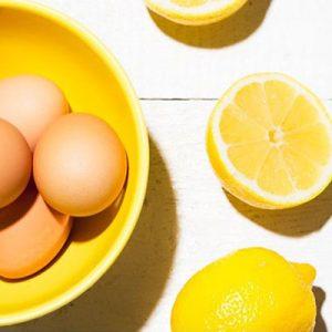 Маска за коса белтък и лимон